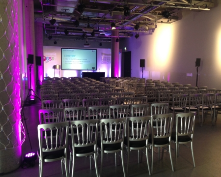 Clyde Suite event space at Glasgow Science Centre
