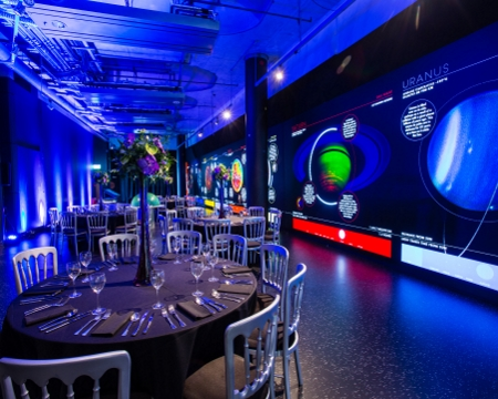 Space Zone event space Glasgow Science Centre