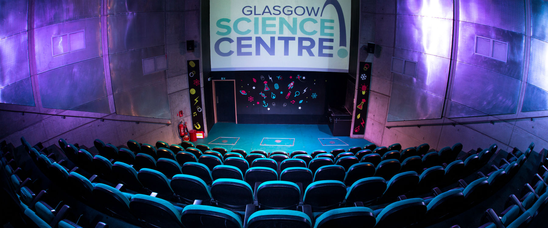 Science Show Theatre event space Glasgow Science Centre