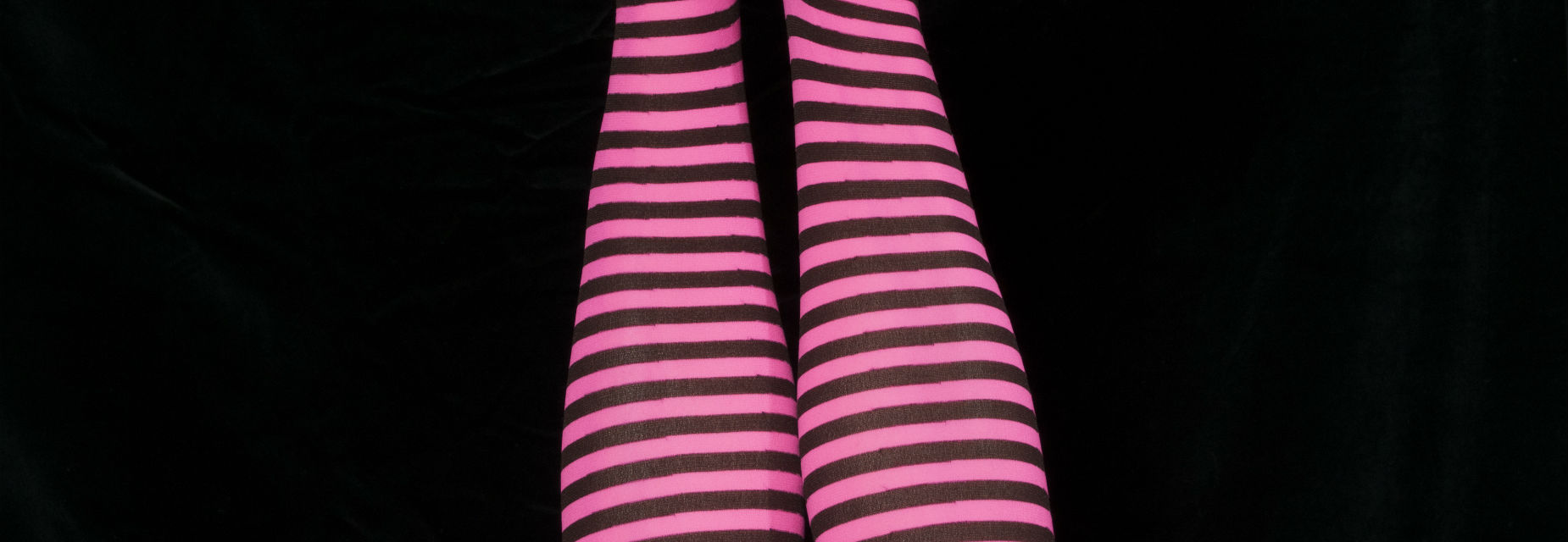 Stripey tights