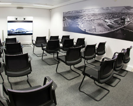 The Boardroom at Glasgow Science Centre