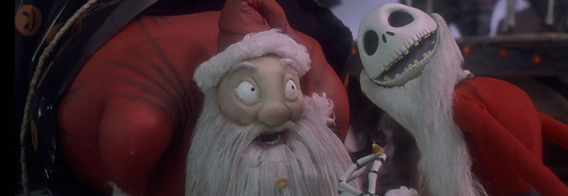 Sandy Claus and Jack Skellington
