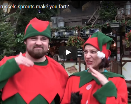 On the lead up to Christmas, Glasgow Science took to the streets and asked people of the city why they think Brussels sprouts make you fart.