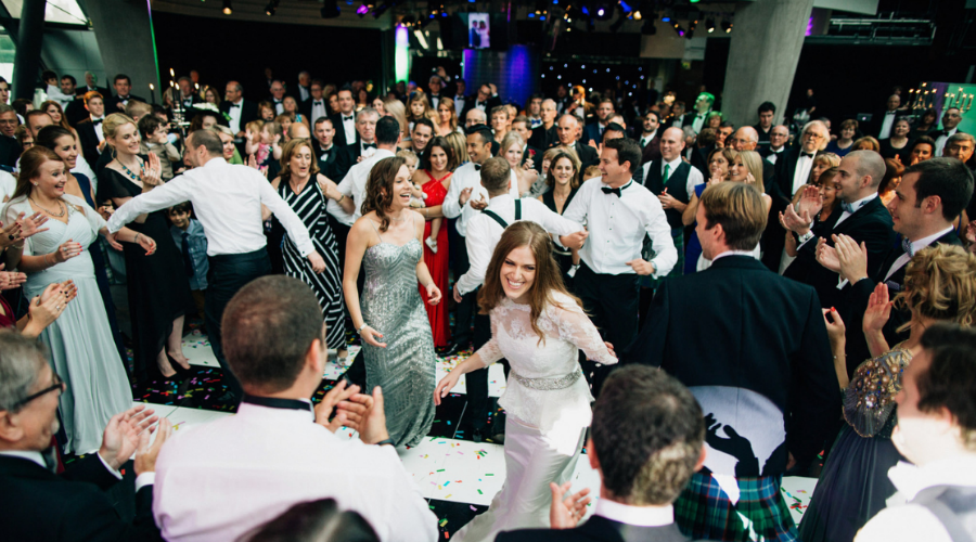 Weddings at Glasgow Science Centre