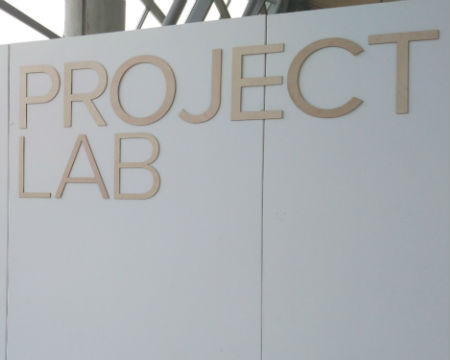 Project Lab sign