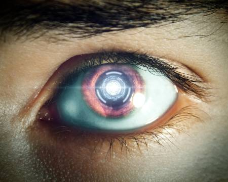 A 'robotic' eye