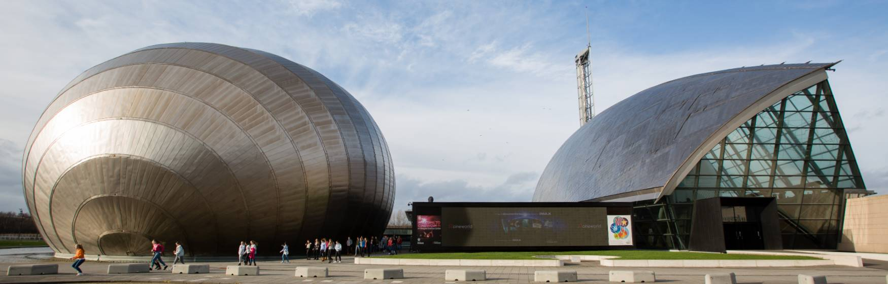 Glasgow Science Centre buildings. Photo Martin Shields / Glasgow Science Centre