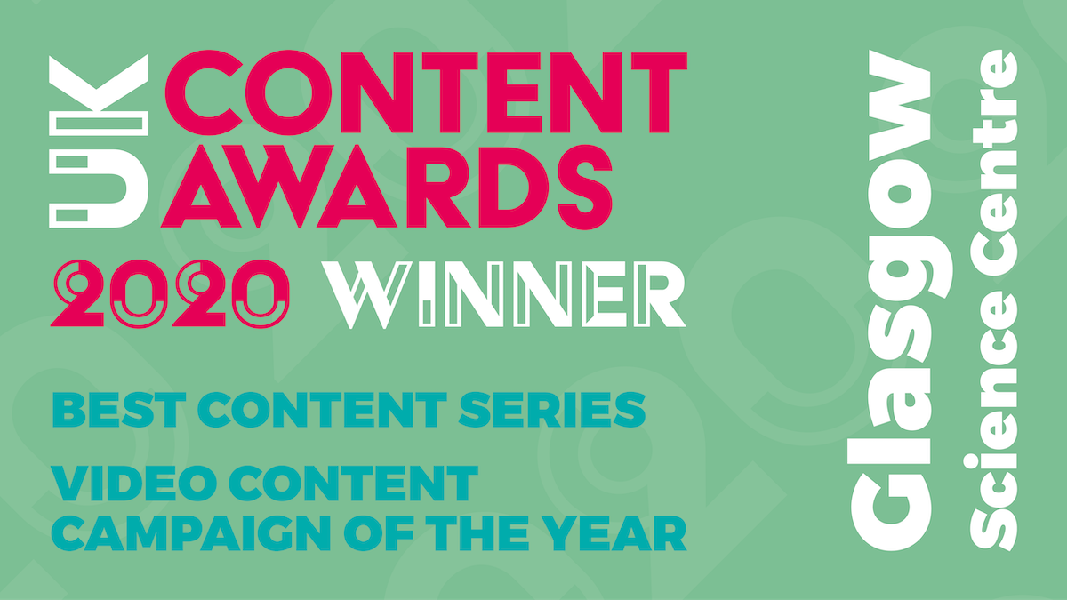 #GSCAtHome is a winner at the UK Content Awards 2020