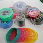 Slime that glows, sparkles, squishes and flows. There's unicorn poo too