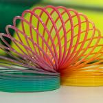 A slinky makes and amazing stocking filler this Christmas